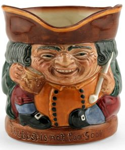 The Best Is Not Too Good D6107 - Royal Doulton Toby Jug
