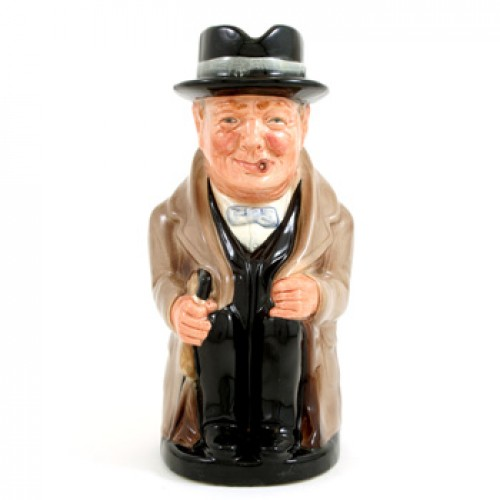 Winston Churchill D6171 - Royal Doulton Toby Jug