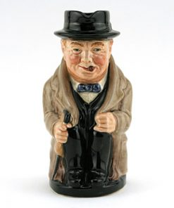 Winston Churchill D6172 (Backstamp A) - Royal Doulton Toby Jug
