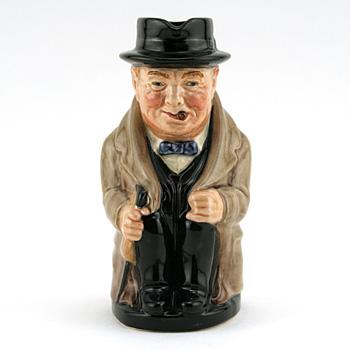 Winston Churchill D6172 (Backstamp A) - Royal Doulton Toby Jug
