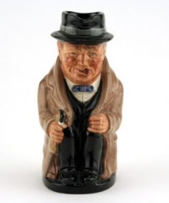 Winston Churchill D6172 (Var. B, Medium) - Royal Doulton Toby Jug