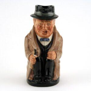 Winston Churchill D6172 (Var. B, Medium) - Royal Doulton Toby Jug