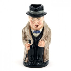 Winston Churchill D6175 - Royal Doulton Toby Jug