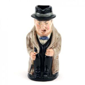 Winston Churchill D6175 - Royal Doulton Toby Jug