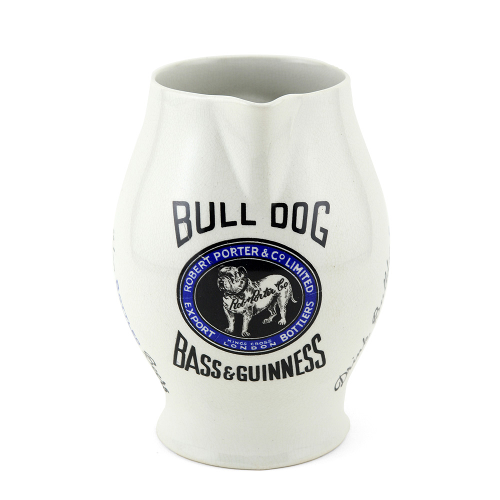 "Bulldog Guinness Pitcher 6""H - Royal Doulton"