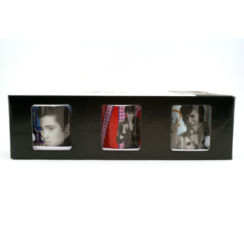 Elvis Mugs Colored Boxed Set - Royal Doulton