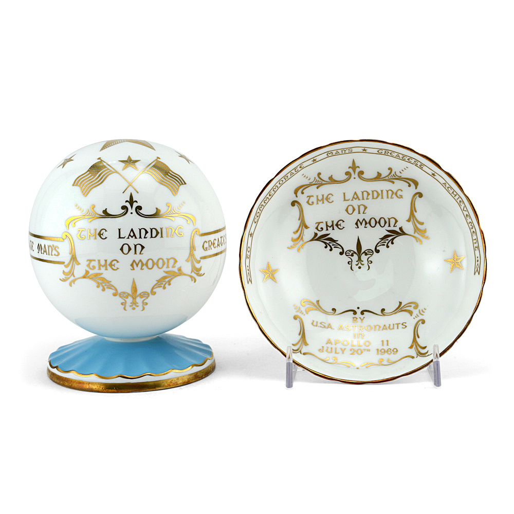 Aynsley pottery Moon Landing Commemorative set - Royal Doulton