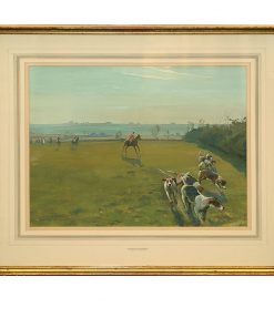 Framed Art Belvoir At Sproxton - Royal Doulton