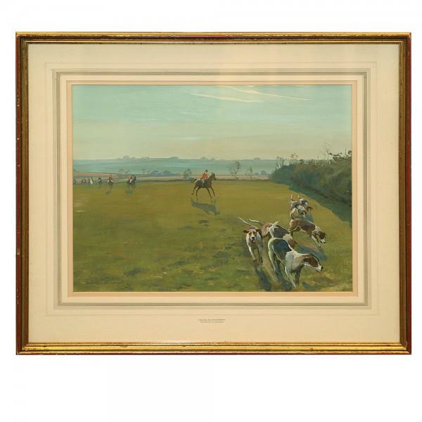 Framed Art Belvoir At Sproxton - Royal Doulton