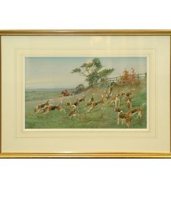 Framed Art On The Scent - Royal Doulton