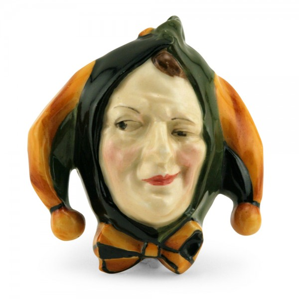 Jester Mask Mini - Green Black HN1611 - Royal Doulton Mask