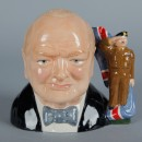 Winston Churchill Army Jug