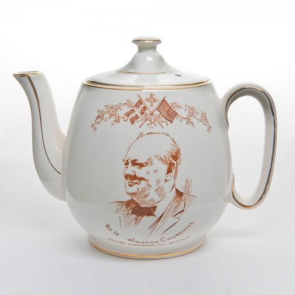 Winston Churchill Teapot
