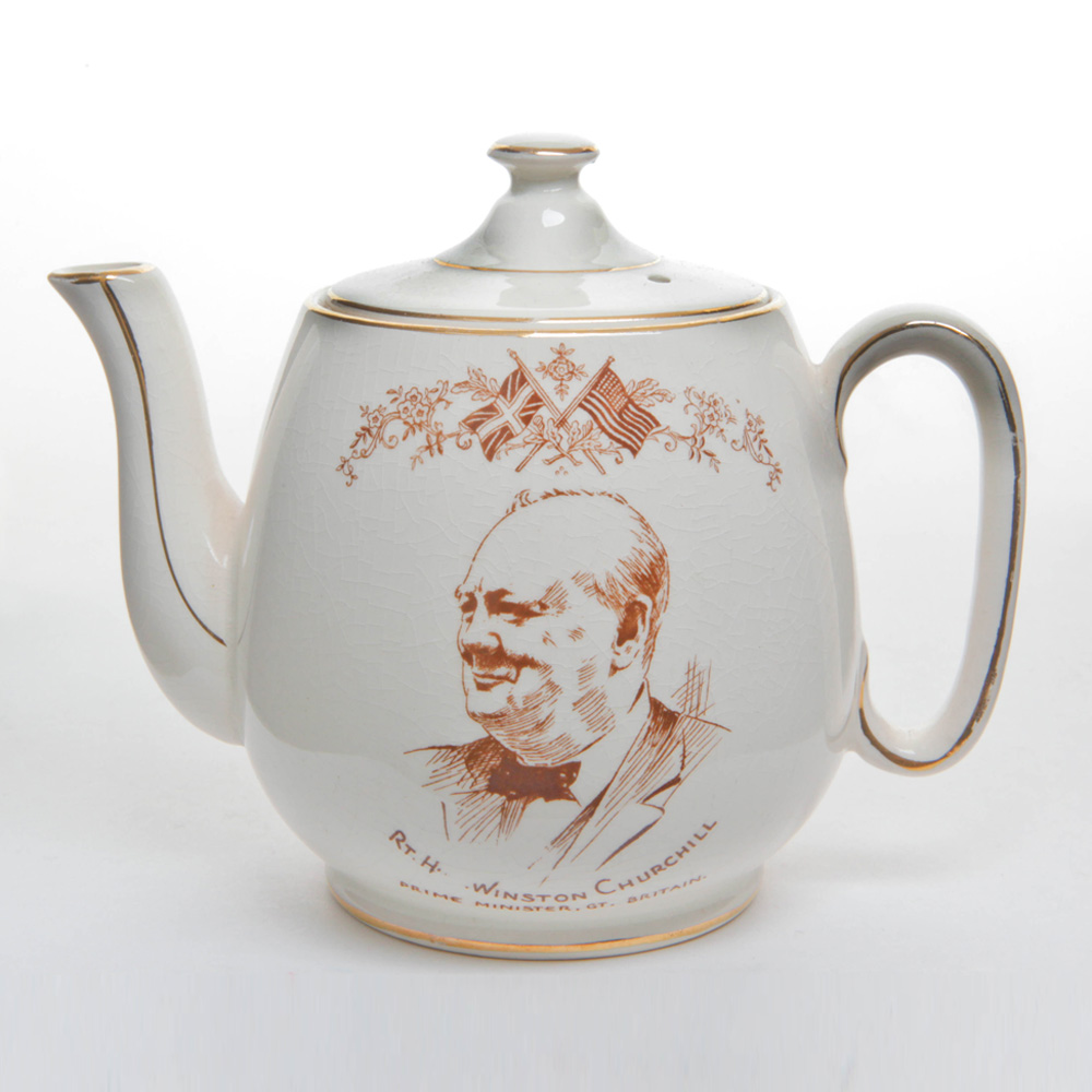 Winston Churchill Teapot