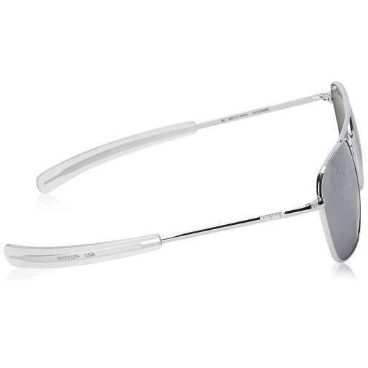 Randolph Engineering Aviator Sunglasses - Chrome 58mm