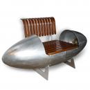 Aviation Design T-33 Jet Fighter Tip Tanks Easy Chair