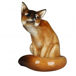 Fox Seated HN130 - Royal Doulton Animals
