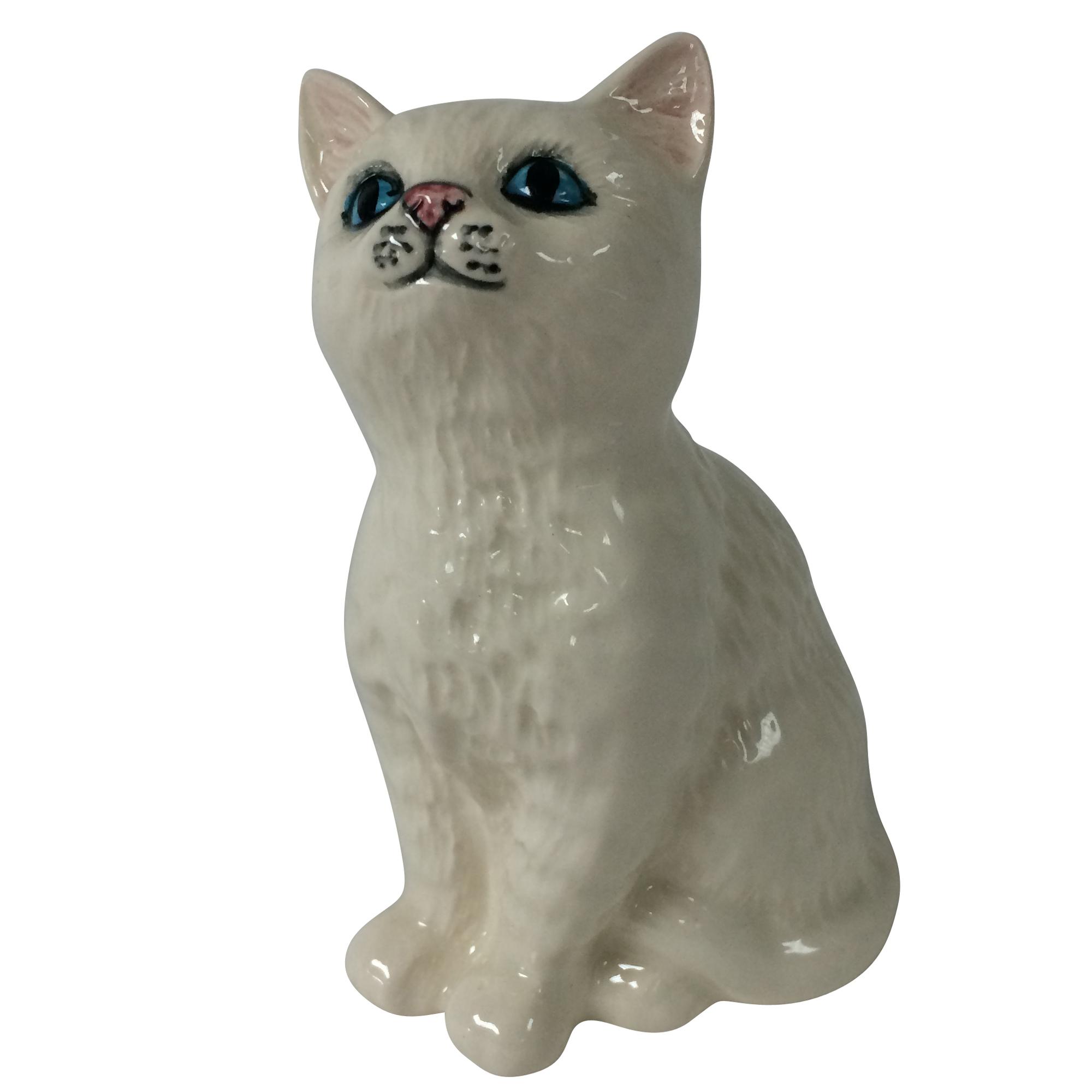 Persian Kitten White DA128 - Royal Doulton Animals