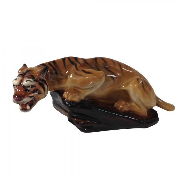 Tiger on Rock HN876 - Royal Doulton Animals