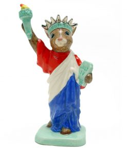 Statue of Liberty DB198 - Royal Doulton Bunnykins