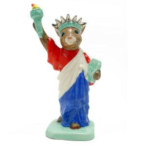 Statue of Liberty DB198 - Royal Doulton Bunnykins