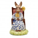 Susan as Queen of the May DB83 - Royal Doulton Bunnykins