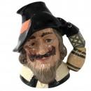 Guy Fawkes Canadian Art Backstamp D6861 - Large - Royal Doulton Character Jug