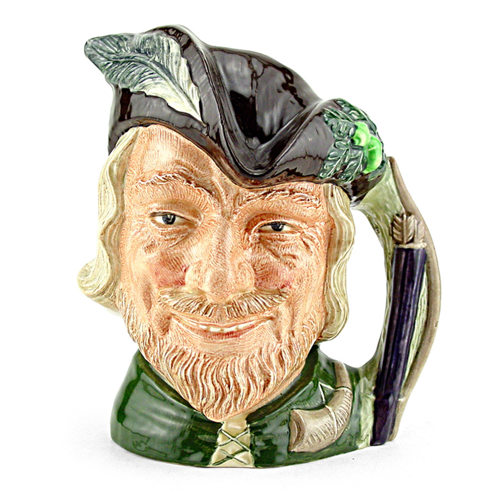 Robin Hood New D6527 - Large - Royal Doulton Character Jug