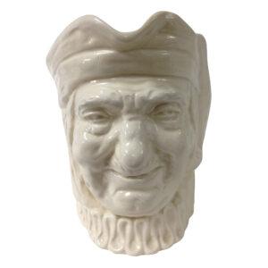 Simon the Cellarer White D5504 - Large - Royal Doulton Character Jug