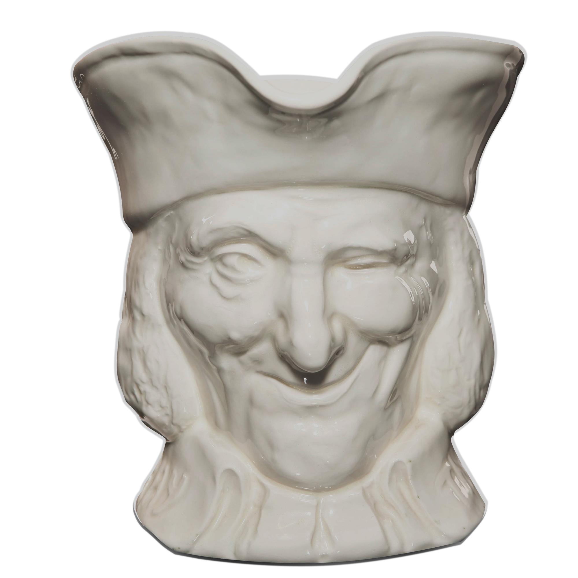 Vicar of Bray White D5615 - Large - Royal Doulton Character Jug