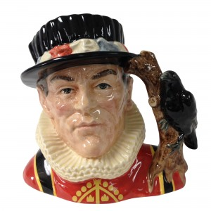 Yeoman of the Guard Strawbridge Backstamp D6885 - Large - Royal Doulton Character Jug