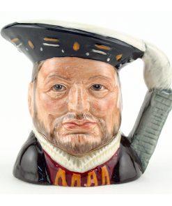 Henry VIII D6648 - Mini - Royal Doulton Character Jug