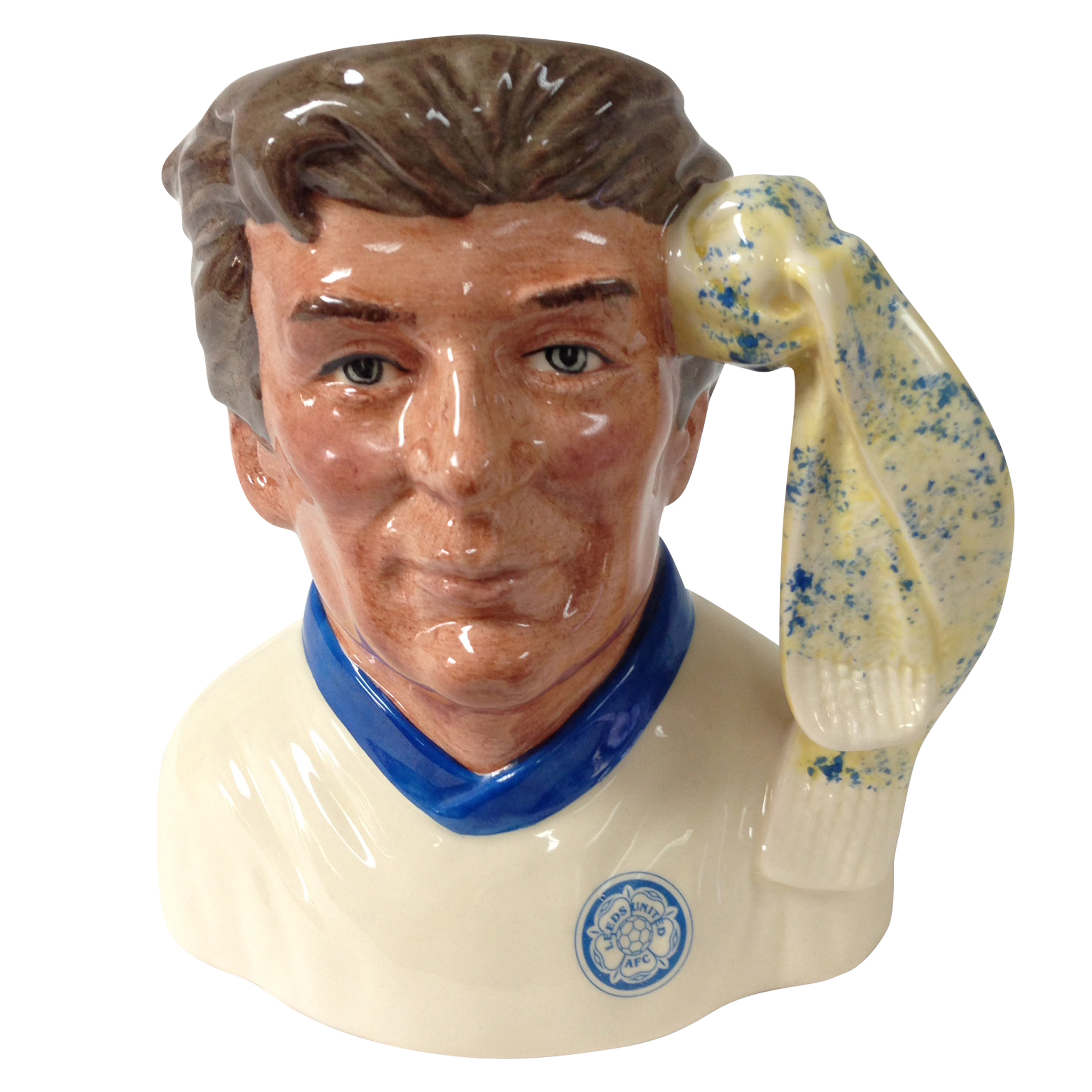 Leeds United Football Club Supporter D6928 - Small - Royal Doulton Character Jug
