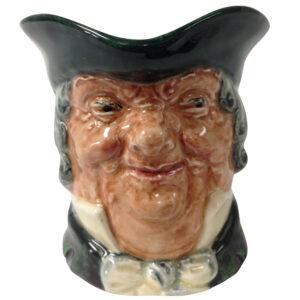 Parson Brown Bentalls Backstamp D5529 - Small - Royal Doulton Character Jug
