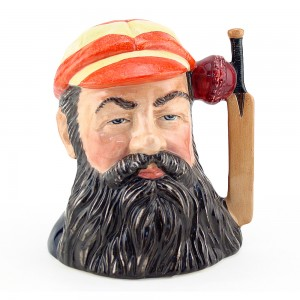 WG Grace D6845 - Small - Royal Doulton Character Jug