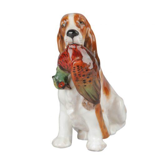 Cocker Spaniel with Pheasant HN1062 - Royal Doulton Dog