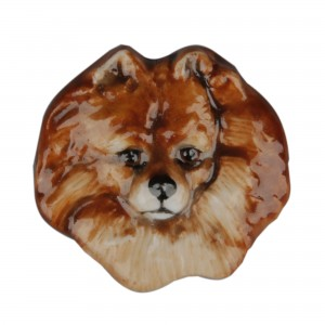Pomeranian Pin - Royal Doulton Dog