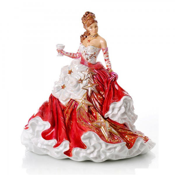 Congratulations Ruby - The English Ladies Company Figurine