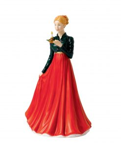 Christmas Eve - 2015 Christmas Day Petite HN5732 - Royal Doulton Figurine