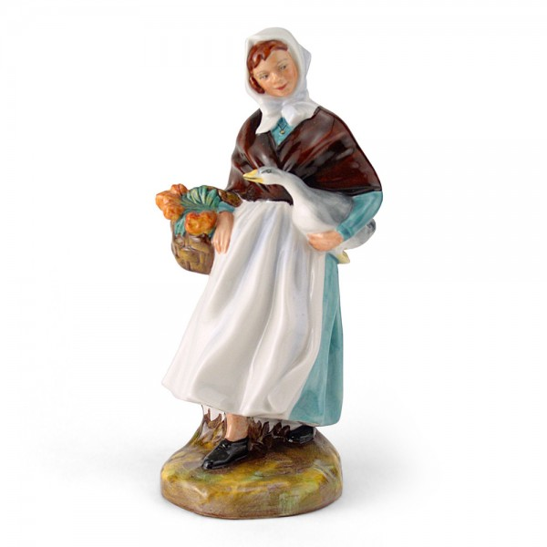 Country Lass HN1991A - Royal Doulton Figurine