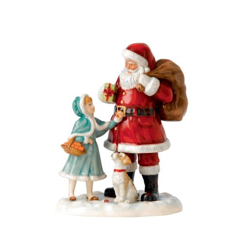 A Gift for Santa - 2015 Father Christmas Character Figure of the Year HN5733 - Royal Doulton Figurine