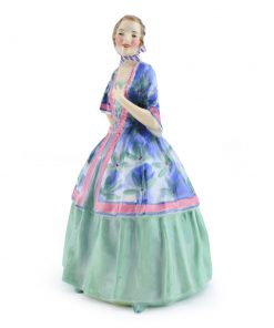Jasmine HN1876 (Green and blue) - Royal Doulton Figurine