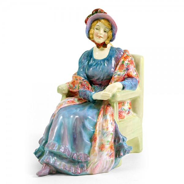 Marion HN1583 (with patterned shawl) - Royal Doulton Figurine