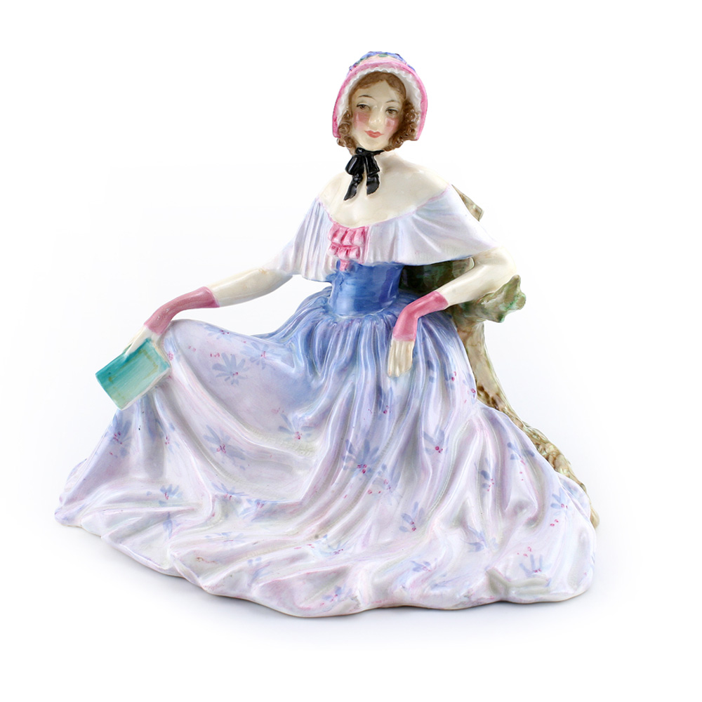 Memories HN1856 (Blue and White) - Royal Doulton Figurine