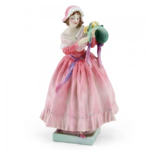 The New Bonnet HN1728 (Pink coloration) - Royal Doulton Figurine