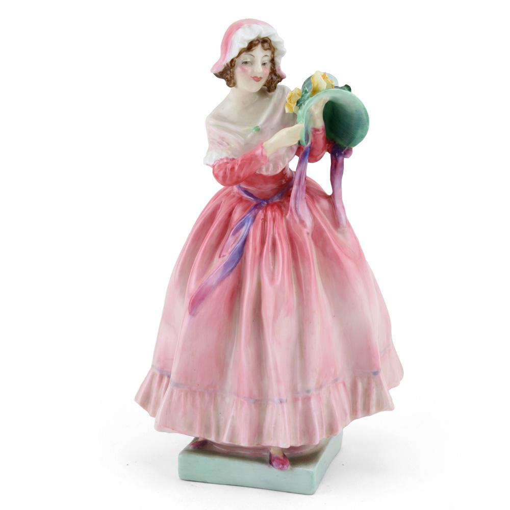 The New Bonnet HN1728 (Pink coloration) - Royal Doulton Figurine