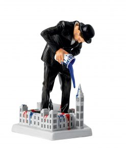Nick Walker Vandal vs. Parliement Figure HN5767 - Royal Doulton Figurine