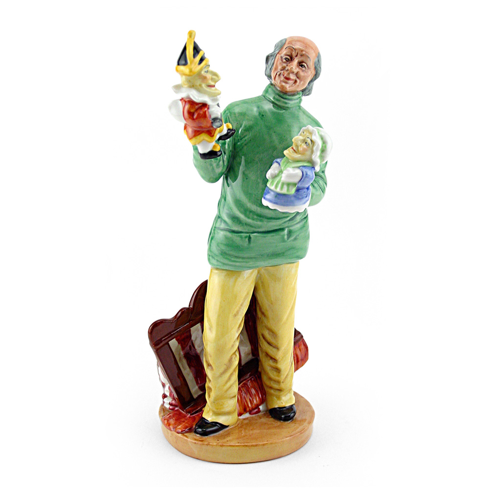 Punch and Judy Man HN2765 - Royal Doulton Figurine