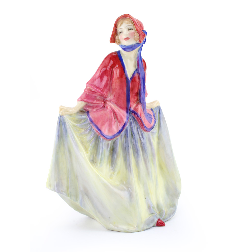 Sweet Anne HN1331 (Red, blue-yellow) - Royal Doulton Figurine