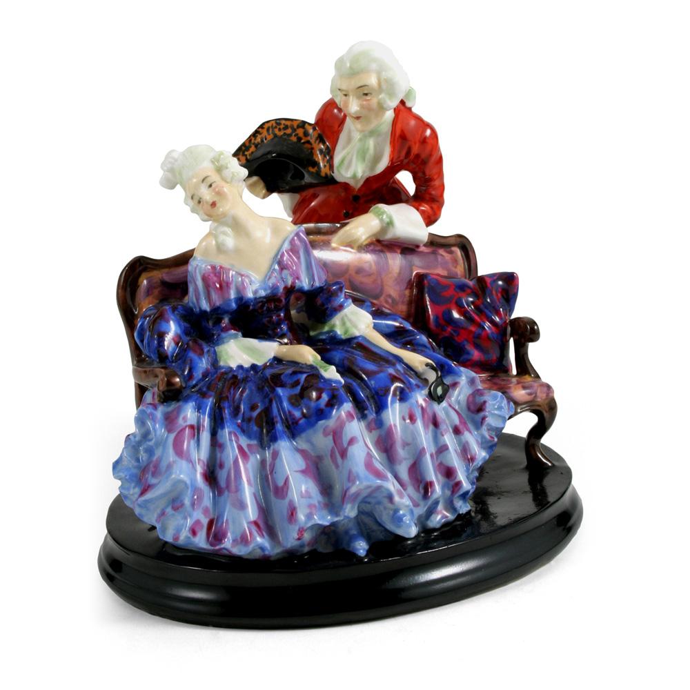 Tete a Tete HN799 - Royal Doulton Figurine